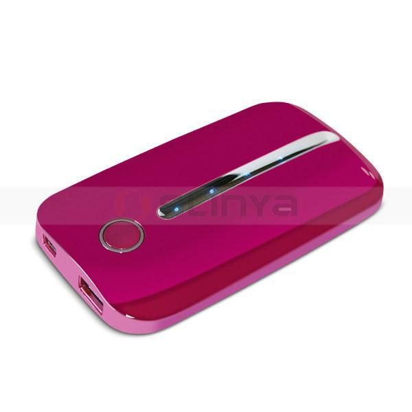 Wholesale Untra thin colorful power bank 4000mah emergency battery charger(China (Mainland))