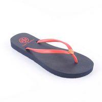 High quality 2013 new arrival simple flip flops shoes big t* candy color chromophous b