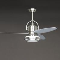 2013 new arrival 2013 brief modern 48 ceiling fan lights remote control single lamp fan lamp 48yft-7091  free shipping