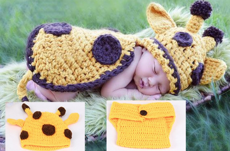 autumn winter handmade knitted baby hat skullies beanies animal design free shipping(China (Mainland))