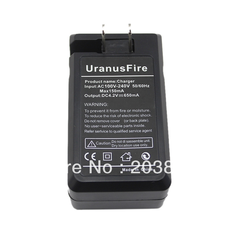 New 110V~240V 220V Battery Charger for 18650 Rechargeable Li-Ion Battery