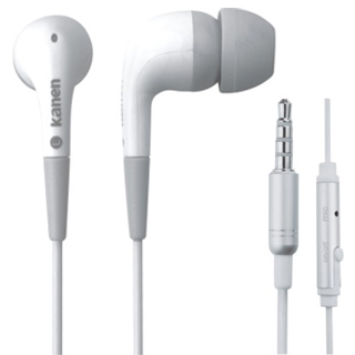 New  3.5mm Stereo In ear earphone earbud headphones handsfree headset for HTC iPad iPhone Samsung    20pcs/lot