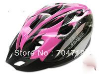New Road bike cycling helmet adult men women bicycle safety helmet pink/black
