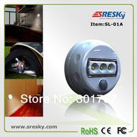 Free Shipping 4ps/Lot 10% Off LED Motion Light Auto PIR Motion Sensor Detector AAA Battery Powered wall light corridor light