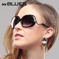 2013 sunglasses female fashion big frame sunglasses diamond glasses anti-uv