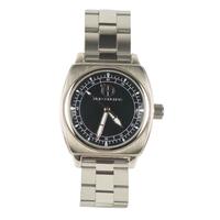 Time concepts 30007 elegant black stainless steel movement quartz watch male