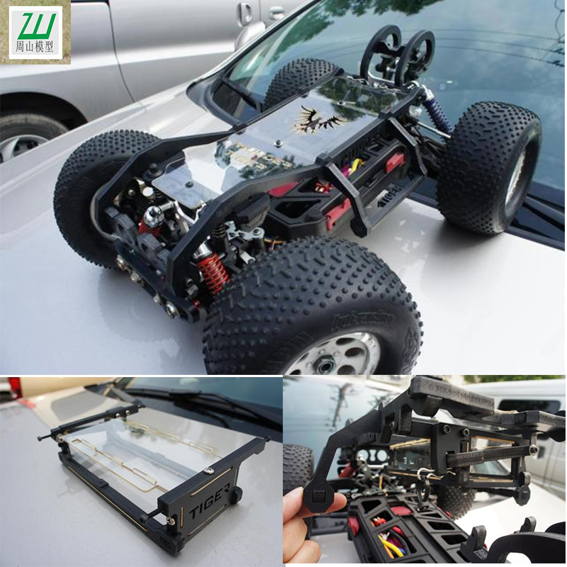 Mt4 g3 roll cage footballing thunder tiger mt4 electric monster truck(China (Mainland))