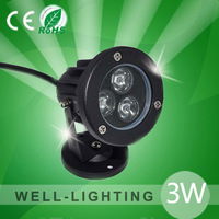 led landscape lightintg 3W, IP65 AC220V outdoor led flood light,DC12/24V LED landscape lighting with spikes for garden