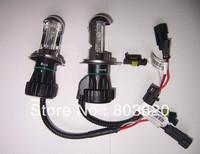 2PCS! Bi Xenon 35W H4 12V AC HID Automotive Headlight Replacement Bulbs H4-3 BiXenon Hi/Lo Beam Lamp 4300K 6000K, free shipping