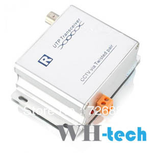 Wholesale - 1 Channel Active Twisted Pair Video Balun UTP Transceiver (1800M) WH2401ATR