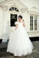 2013 wedding formal dress maternity wedding dress high waist plus size wedding dress customize piece set