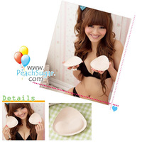 Small pad bikini swimwear insert swimwear push up pad sponge pad