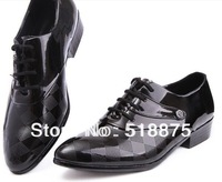 FREE SHIPPING! Large Size! 2013 new men oxfords shoes, men's genuine leather shoes, dress shoes, size:38-44 hot sale!