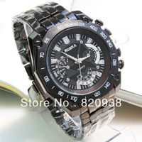 2013 men watch fashion style hot new men's business promotional gifts strip watch factory outlets 144 597