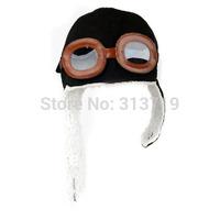 10pcs/lot Drop Shipping Baby Toddler Kids Pilot Aviator Cap Fleece Warm Hats Earflap Beanie ZY023#10 Free Shipping