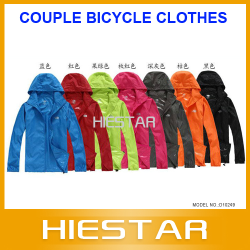 2013 New spring and summer cycling clothing ride long-sleeve top breathable quick-drying couple bicycle clothes mountain bike(Hong Kong)