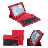 For Samsung Galaxy Note 10.1 N8000 N8010 Detachable Wireless Bluetooth Keyboard Leather Case