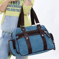 Canvas bag mobile messenger bag casual canvas bag big bag