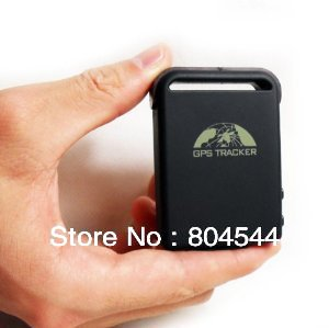 GPS/GPRS/SMS personal pets Mini tracker TK102-B with special car charger&USB cable(China (Mainland))