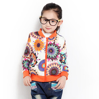 2013 outerwear cardigan blazer geometry multicolour flower