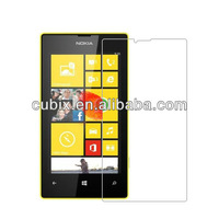 Free Shipping 20PCS for Nokia Lumia 520 mobile phone Anti-fingerprinter & Anti-Glare Screen Protector by CUBIX