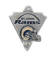 Free shipping 10pcs a lot sport enamel Saint Louis Rams football team logo charms