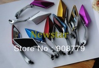 Free Shipping High performance motorcycle side mirror KOSO mirror for the scooter motorbike refitting mirror 7 color available