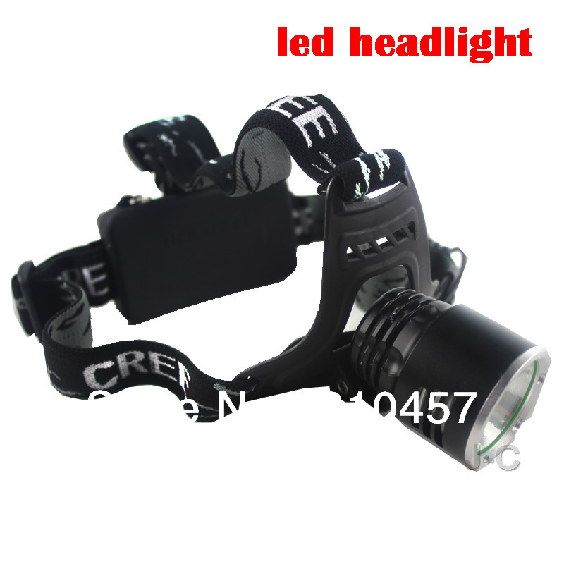 Newest Cheap Hot Sale bicklight headlamp 1600 Lumens CREE XM-L T6 LED Headlamp Headlight+charger(China (Mainland))