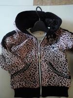 2013 spring female child outerwear leopard print
