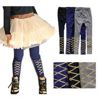 2013 spring female child 100% cotton ultra elastic legging k3026