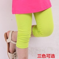 Children's clothing 2013 summer female child candy color ball child legging capris