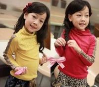 2012 female child autumn new arrival long-sleeve T-shirt s2078 basic shirt