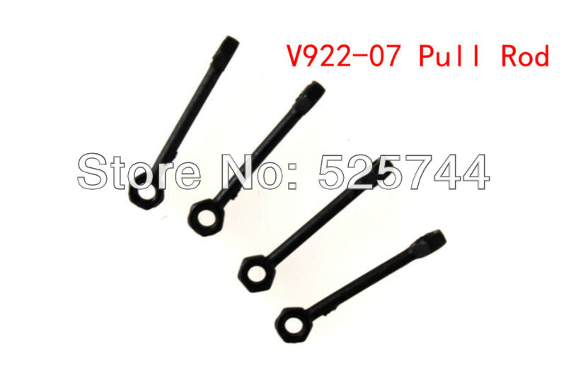 V922 Parts - 3Sets/Lot V922-7 Pull Rod Spare Parts For WLToys V922 2.4G 6Ch Radio Control RC Helicopter(China (Mainland))