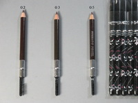 Free dhl/ems ( 120PCS/LOT) hello kitty 3 colors eyebrow pencil with eyelash brush Makeup Cosmetic Tool_big mouth factory