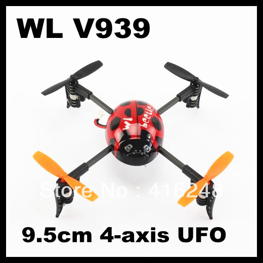 WLTOY V939 Beetle Style Rechargeable 2.4G 4CH Radio Control R/C Helicopter(China (Mainland))