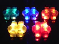 40pcs/lot(20 pairs)  LED Fiber Optic Flashing shoe lace Light up Flash shoelace shoe laces OPP bag packing - 2nd Gen.