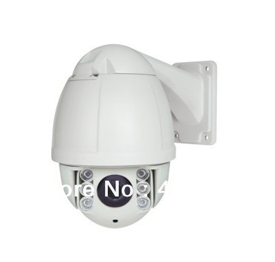 "4.5"" 700TVL 10X Optical Zoom Security PTZ IR Outdoor High Speed Dome Camera P07T(China (Mainland))"