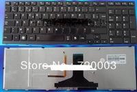 5pcs FREEshipping New ORIGINAL Good working laptop keyboard for Toshiba  A660 A665 P750 FRENCH
