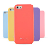 5G cell phone case for  iphone5 silica gel sets  candy color   shell