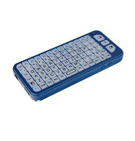 A7 2.4G wireless air mouse, wireless keyboard, LED backlight mode Blue(China (Mainland))
