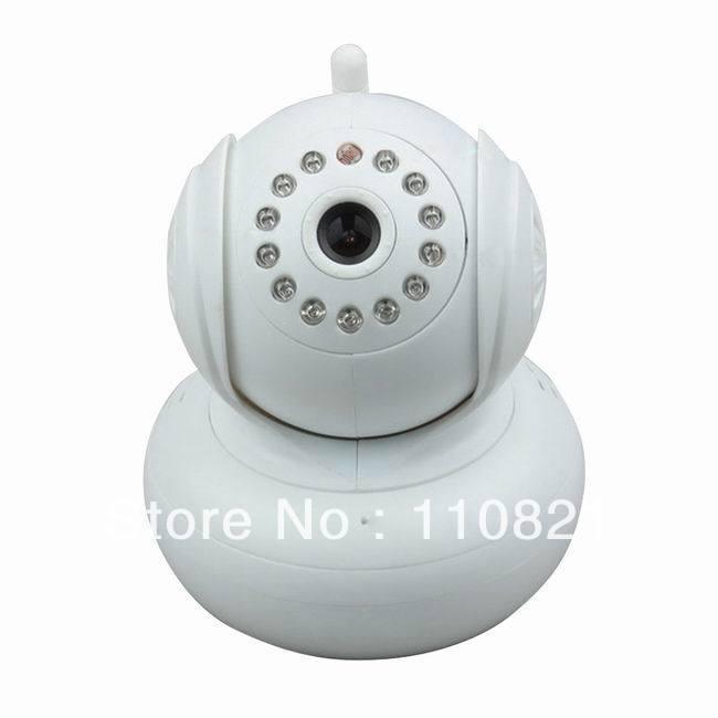 HW0021 Dual Audio P2P Wireless Webcam 720P H.264 WIFI Network IPCamera Baby Monitor IR LED 10m Night Vision TF Card US Plug(China (Mainland))