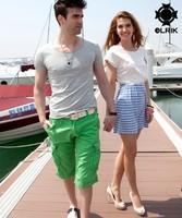 Fashion men's T-shirt 2013 new hot sale 100% cotton short sleeve o neck casual T- shirt 4colors free shipping
