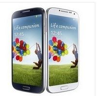 100% same S4 I9500 Galaxy Andriod 4.1 dual core 3G phone MTK6577 4GB 8MP Single SIM Cell phone Original logo