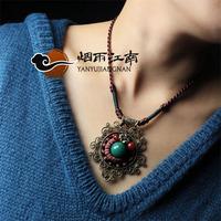 Short design necklace female vintage long necklace female accessories decoration fashion