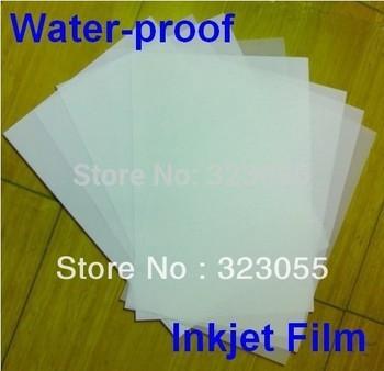 100 sheet A3 Water Proof  Screen Printing Inkjet Transparency Film Paper