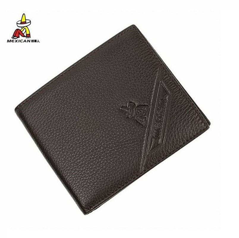 Wallet male short design wallet Men wallet men's genuine leather man bag(China (Mainland))
