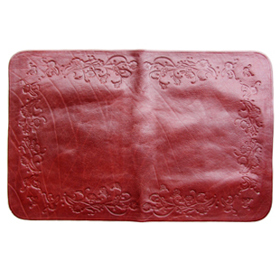Free shipping, Soft leather pillow mat home textile cowhide speeched mat on sale(China (Mainland))