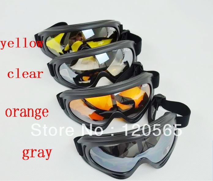 Cool Motorcycle Motocross ATV Dirt Bike Off Road Racing Goggles glasses Surfing Airsoft Paintball free shipping(China (Mainland))