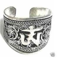 Silver Mani Ring NEPAL INDIA