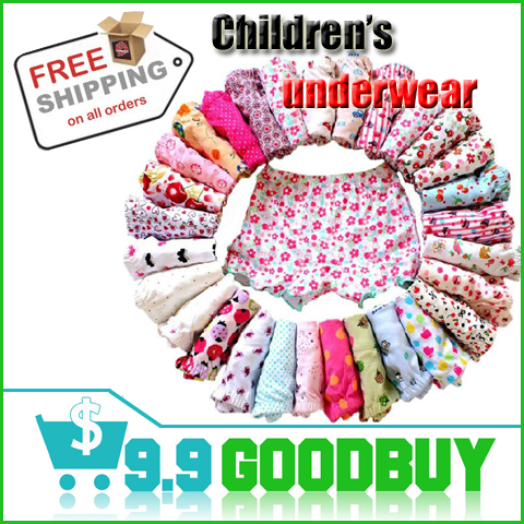 Children underwear boxer shorts kids baby panties clothing 12pieces/lot more styles free shipping(China (Mainland))